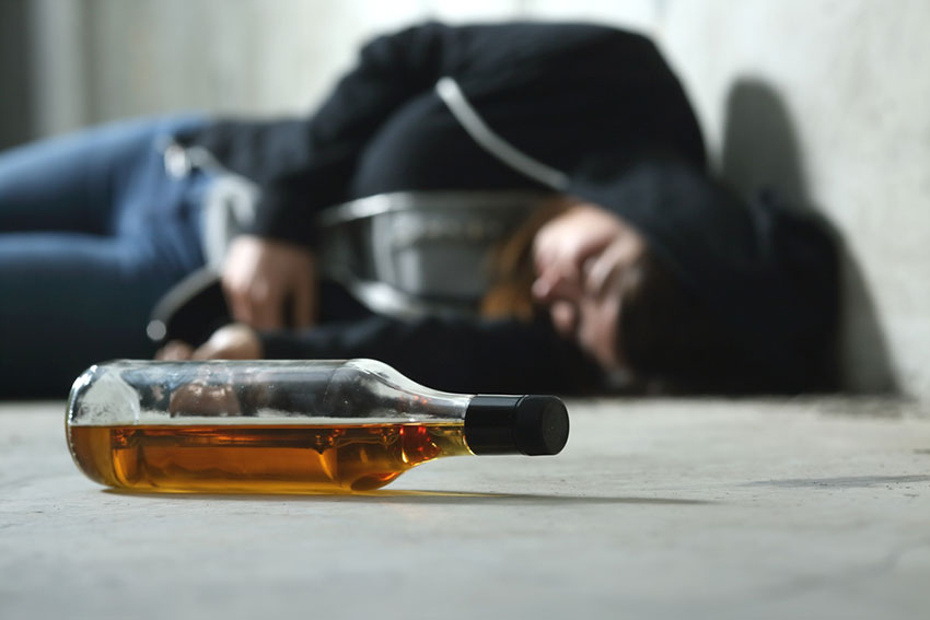 белая горячка от алкоголя