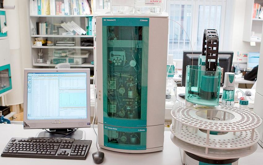 Оборудование для хроматографического анализа - разделения образцов на химические составляющие